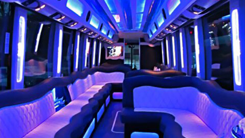 nyc limo bus